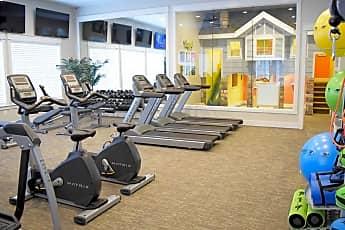Fitness Weight Room, Herriman Towne Center, 1