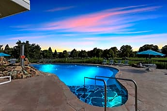 Pool, Park View Apartments, 0