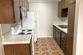 Kitchen, 6001 Canterbury Drive Unit 107, 2