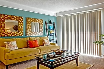 Living Room, Cape Landing Apartments, 0