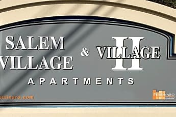 Community Signage, Salem Village, 0