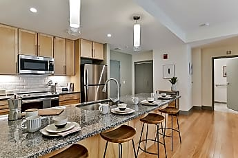 Kitchen, Midd-Town Apartments, 0