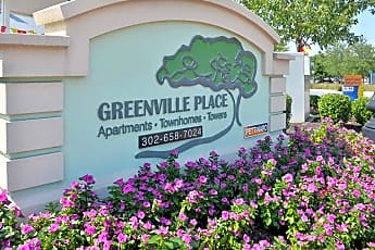 Community Signage, Greenville Place Apartments, 0