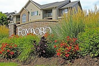 Community Signage, Foxboro, 1