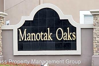 Community Signage, 6788 Manotak Oaks Dr, 1