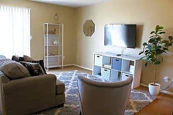 Living Room, Regency Square Apartments, 2