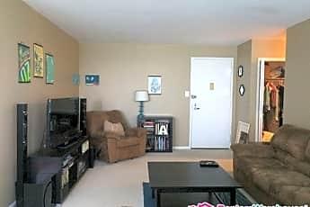 Living Room, 10401 Grosvenor Pl, 1