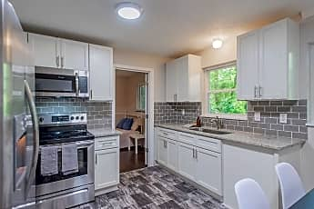 Kitchen, Room for Rent -  a 5 minute walk to bus 74, 0