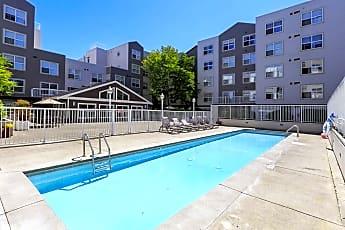 Pool, Cooper Apartments, 0