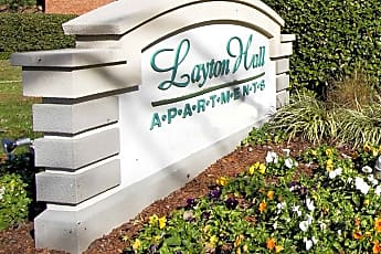 Community Signage, Layton Hall Apartments, 2