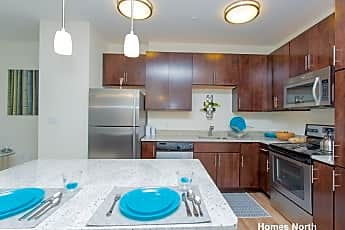 Kitchen, 100 Summer St, 1