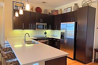 Kitchen, 507 Sabine St #1006, 0