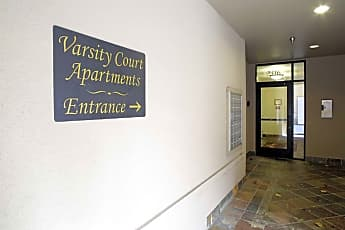 Community Signage, Varsity I Apartments, 2