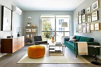 Living Room, 3200 Washington Street, Apt 2606, 0
