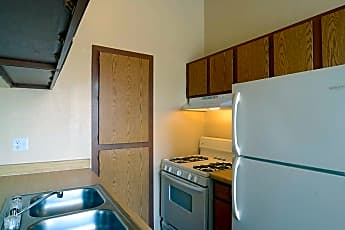 Kitchen, Valley Place Apartments, 1