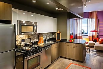 Kitchen, AVA High Line, 1