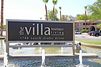 Community Signage, The Villa Boutique Rentals, 2