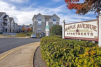 Community Signage, Maple Avenue Apartments, 0