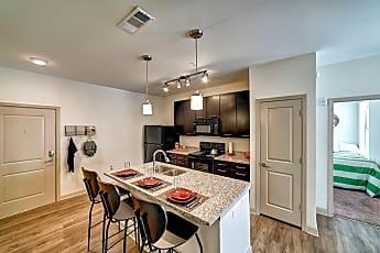 Kitchen, Riverfront Village - Per Bed Lease, 0