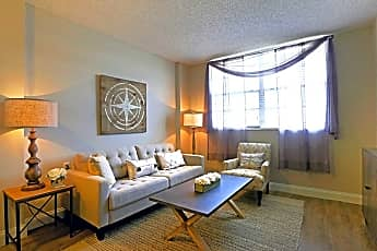 Living Room, Lakeview Tower, 0