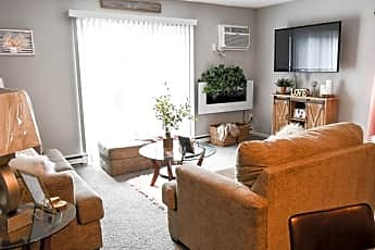 Living Room, Yorktowne Pointe, 0