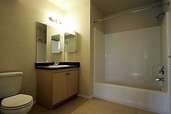 Bathroom, Park Palace Apartments, 2