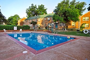 Pool, Audubon Downs Apartments, 0