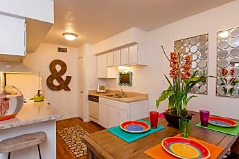 Dining Room, Pepper Tree Apartments, 0
