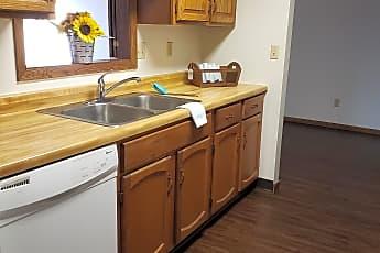 Kitchen, Mindak Apartments, 0