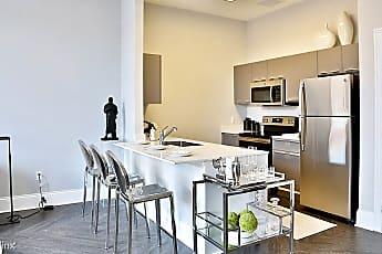 Kitchen, The James Ferndale Senior Apartments, 0