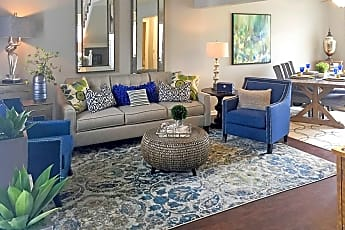 Living Room, Barrington Park Townhomes, 1