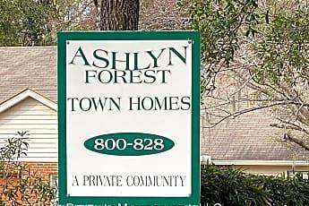 Community Signage, 811 Ashlyn Forest Dr, 1