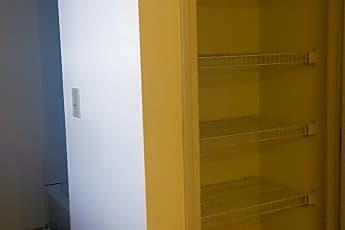 Additional storage in bathroom, 490 E. North St., 2