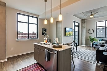 Kitchen, SkyGarden Apartments - PER BED LEASE, 0