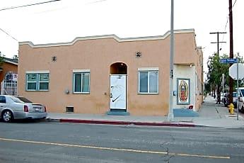 Building, 1401 S Palos Verdes St, 1