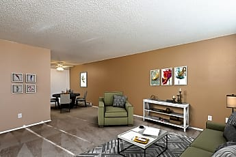 Living Room, 4910 SW 45th Ave, 0
