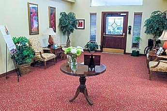 Living Room, 6155 Holiday Ln 1 BR, 1