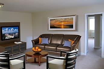 Living Room, Park Shirlington Apartments, 0
