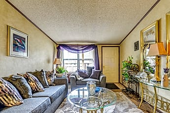 Living Room, Willowwood Apartments, 1