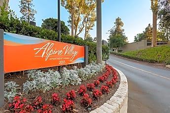 Community Signage, Alpine Village Apartments, 1