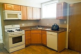 Kitchen, 2327 W 35th Pl G, 1