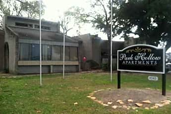 Community Signage, Park Hollow, 0