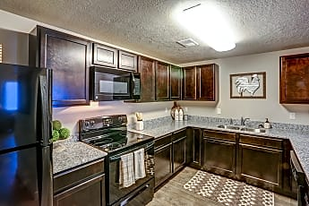 Kitchen, Clearfield Station Apartments, 0