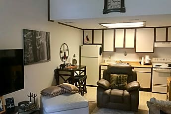Living Room, Willowwood Apartments, 2