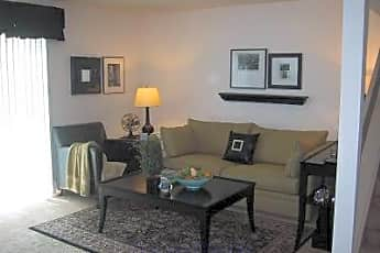 Living Room, Chateau Townhomes, 0