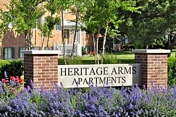 Community Signage, Heritage Arms, 0