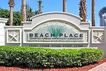 Community Signage, Beach Place, 0