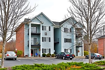 Building, Colonial Village Apartments, 1