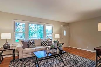 Living Room, 6715 Ogden Street, 1