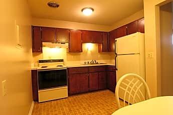 Kitchen, The Four Seasons Apartments, 2